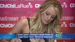 Stormy Daniels' Defamation Lawsuit Against President Trump Thrown Out