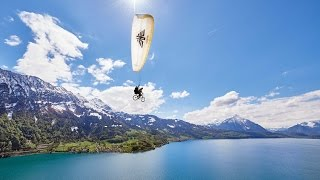 Swatch Rocket Air 2016 - Paragliding with a Bike