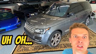 homepage tile video photo for I Made a HUGE Mistake And Bought A Used Range Rover Supercharged LWB