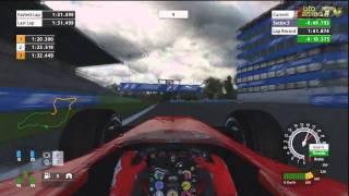 Formula One Championship Edition PS3 - Michael Schumacher Onboard Lap on Imola (Rain)