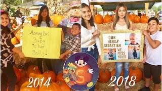 Recreating Old Photos At A Pumpkin Patch 🎃 | The Aguilars