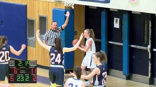 ABRHS Girls Basketball VS Lincoln Sudbury February 15, 2019