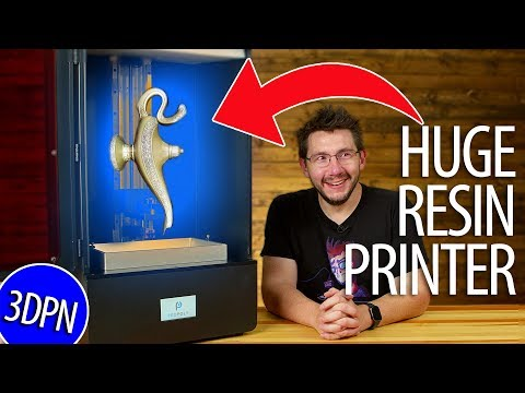 HUGE Resin Printer - First Impressions Of The Peopoly Phenom MSLA 3d Printer