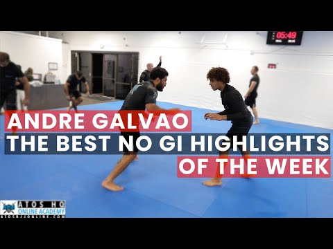 Highlights - Andre Galvao Rolling with Sudents