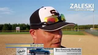 Softball/Baseball double highlight