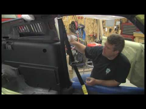 Episode 8 Part 1 Custom Seat belts in a Muscle Car ...