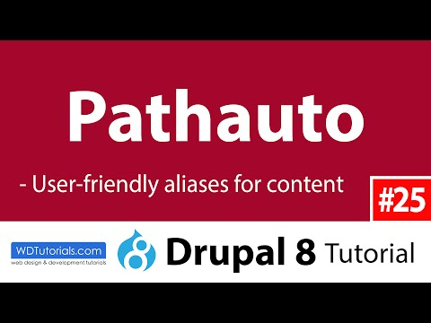 Drupal 8 - How To Generate User-Friendly Urls With Pathauto