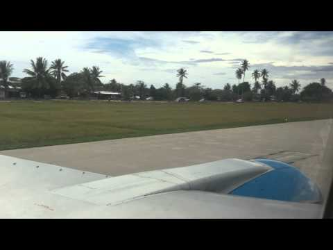 Nauru Airlines arrives in Nauru part 2