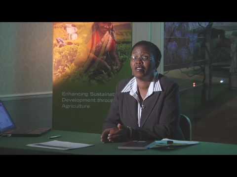 The Obama Agriculture Plan - Dr. Lindiwe Majele Sibanda, FANRPAN
