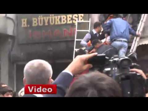Gaziantep'te kapalı çarşıda yangın, 3 ölü, 10 yaralı
