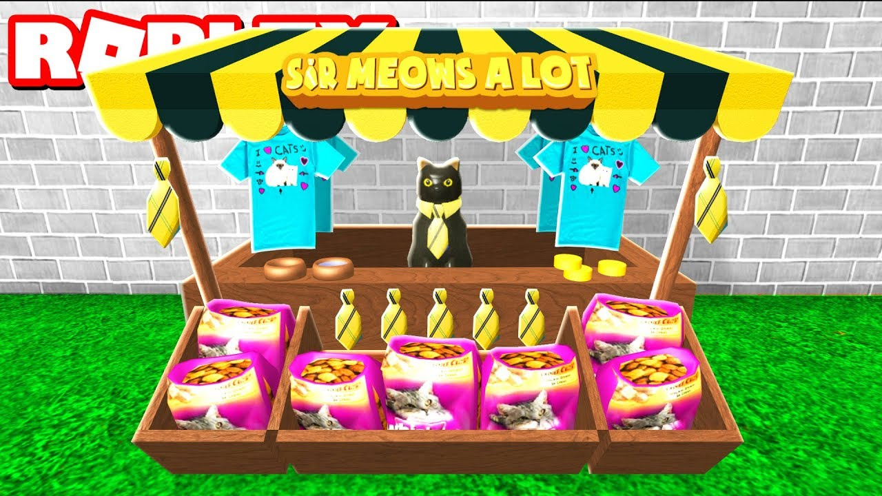 SIR MEOWS A LOT STORE IN ROBLOX - YouTube cc500c554