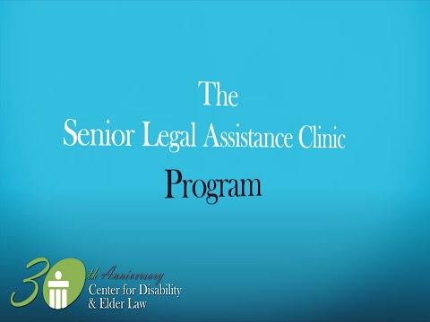 CDEL Senior Legal Assistance Clinics