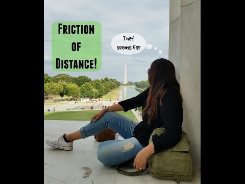 Example Of Friction Of Distance Geography