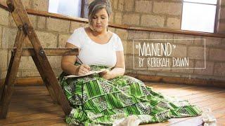Maneno - Rebekah Dawn (OFFICIAL MUSIC VIDEO)