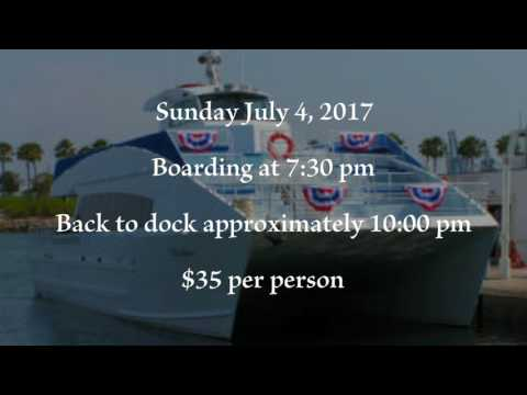 Harbor Breeze Yacht Charters and Cruises: 4th of July Fireworks Cruise