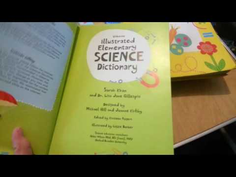 Usborne Illustrated Dictionaries Sneak Peek