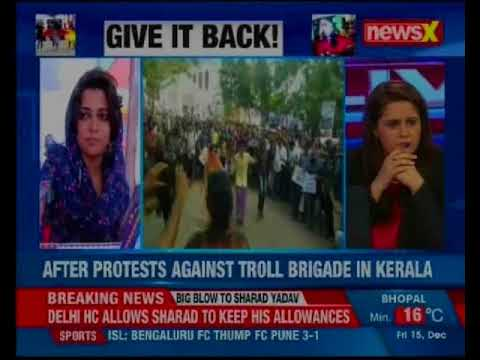 Kerala: After protests against troll brigade, 9 booked for harassing women online