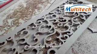 Grille Partition Screen&Wood Carved Partition Hollow Out MDF By CNC Router Machine China