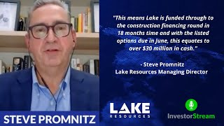 Investor Stream chats with: Lake Resources Managing Director Steve Promnitz (January 25, 2021)
