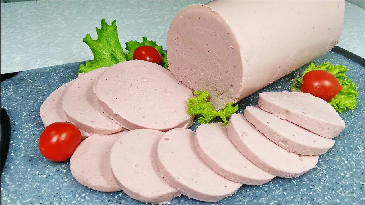 Домашняя докторская колбаса из курицы | Без оболочки