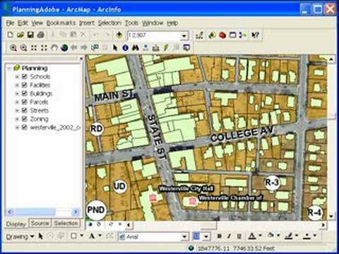 ESRI Software: Georeferenced PDFs in ArcGIS Desktop 9.3 ...