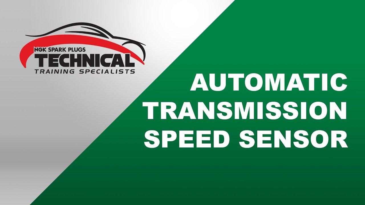 Ntk Automatic Transmission Speed Sensor Youtube
