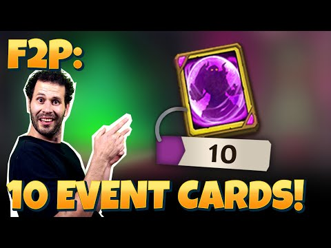 JT's F2P Opening 10 Event Hero Cards NEW HERO! Castle Clash