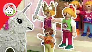 Playmobil Film deutsch  - Lisas Geburtstag - Kinderfilm von Familie Hauser