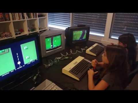 Atari 800 XL network game SpeedUp