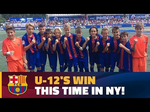 All of the U12s' goals in LaLiga Promises in New York