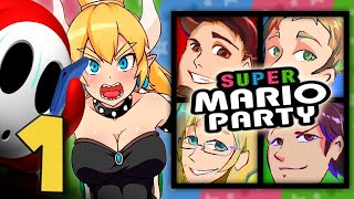 Super Mario Party: The BEST Partiers On YouTube - EPISODE 1 - Friends Without Benefits