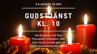 20201220 Gudstjänst 4:e advent