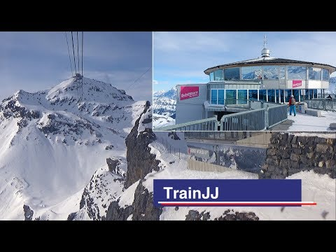 Schilthornbahn |Birg - Piz Gloria Full POV Ride | Schilthorn Cable Car |Steepest Run Jungfrau Region