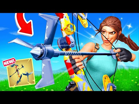New *EXOTIC* GRAPPLER BOW in Fortnite! (Overpowered)