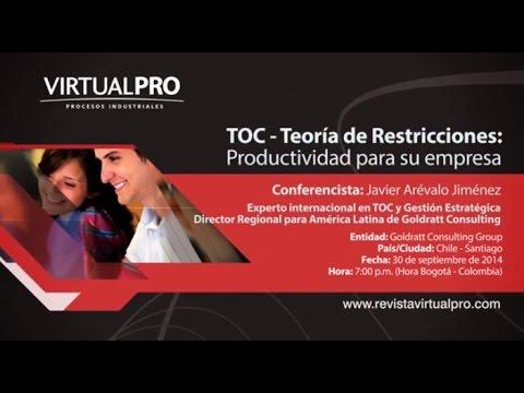 TOC - Teoría de Restricciones: Productividad para su empresa