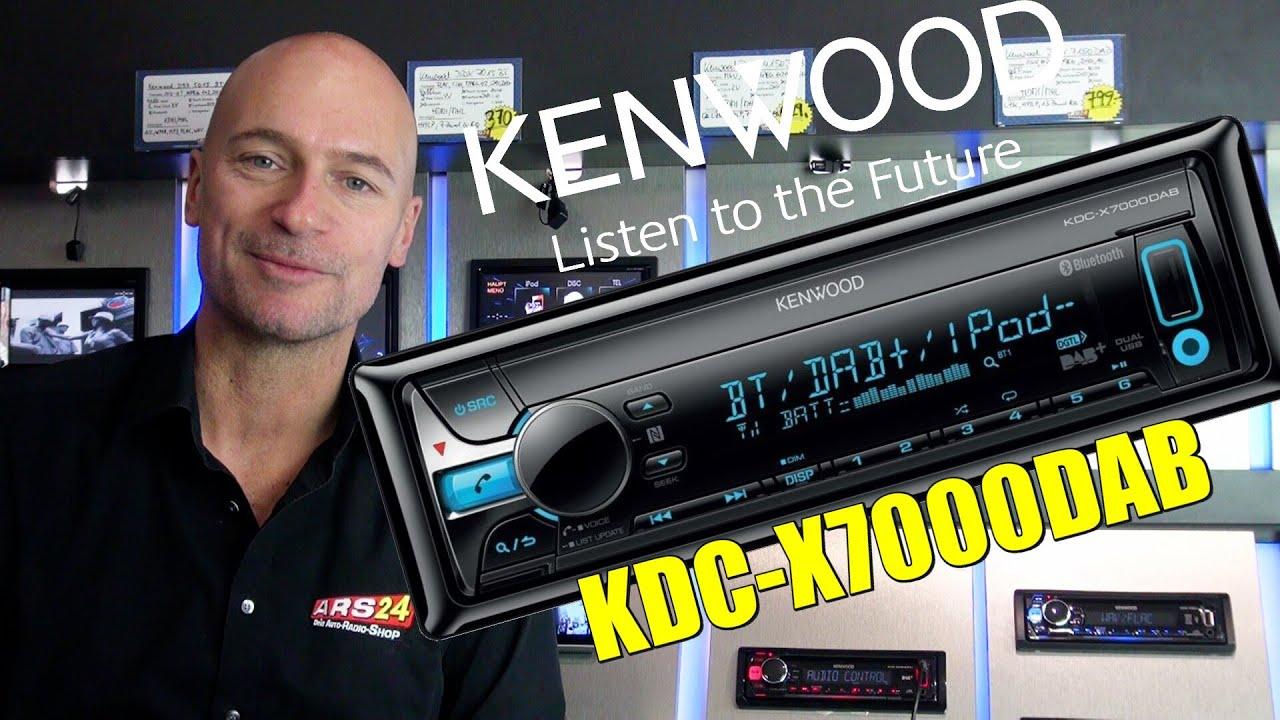 kenwood kdc x 7000 dab review autoradio mit bluetooth. Black Bedroom Furniture Sets. Home Design Ideas