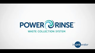 InSinkErator Foodservice - Power Rinse Collection System