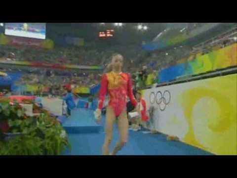 2008 Olympics Yang Yilin (CHN) VT Quals