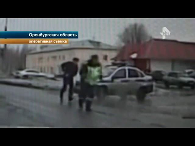 Нетрезвый водитель устроил гонки с полицией под Оренбургом