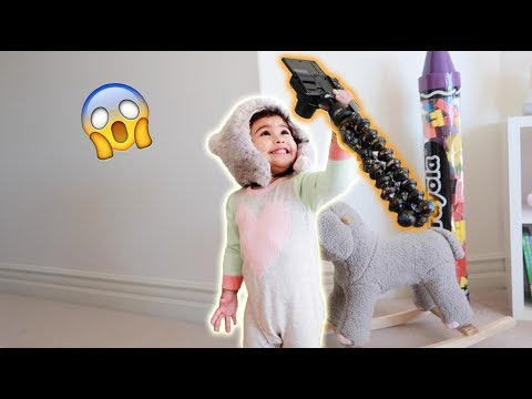 WE'VE NEVER SEEN A BABY DO THIS ON YOUTUBE BEFORE!!! **ADORABLE**