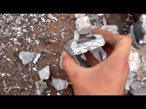 MBMMLLC.com: Scrapping/Recycling Zinc and steel through a hammermill