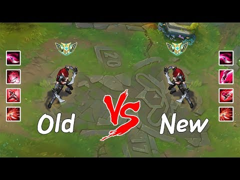 Old Katarina vs. New Katarina