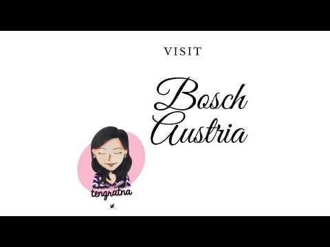 Bosch mixer di Austria kunjungan saya di Austria