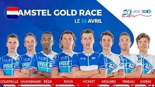 Composition de l'équipe FDJ pour l'Amstel Gold Race