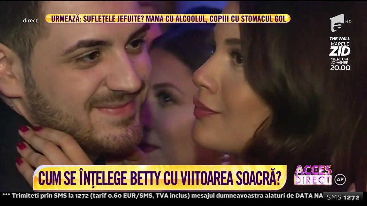 Betty Salam și Cătălin, logodnicul ei, detalii despre cununia lor civilă