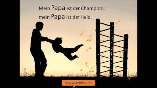 Kugelbahn Xyloba spielt Papa Lied zum Vatertag