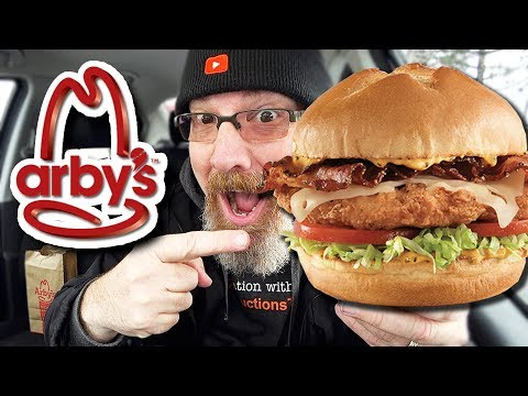 Arby's 🍗🥓🧀 Chicken Bacon Swiss Sandwich | Food Review