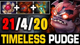 More Than An Offlaner - Tanky Build By Master Tier Timeless Pudge | Pudge Official