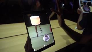 ARKit running on iOS 11 and Hands on Apple's new 10 5 inch iPad Pro it's really cool.mp3