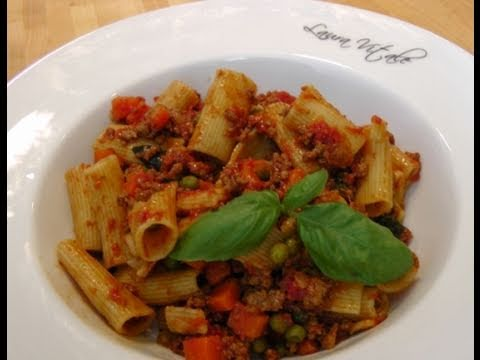 How to Make Bolognese Sauce - Recipe by Laura Vitale - Laura In The Kitchen Episode 55
